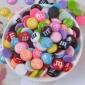 �渲�-M豆奶油手�C�づ浼�-文具盒diy材料仿真巧克力豆史�R姆填充物